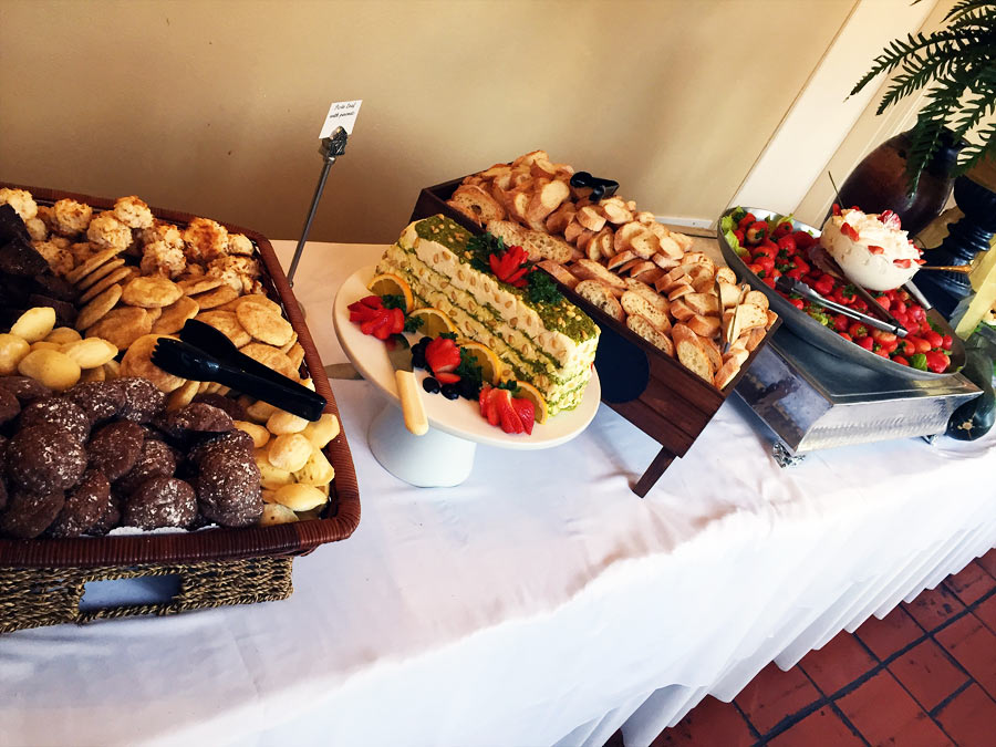 Baby shower catering services