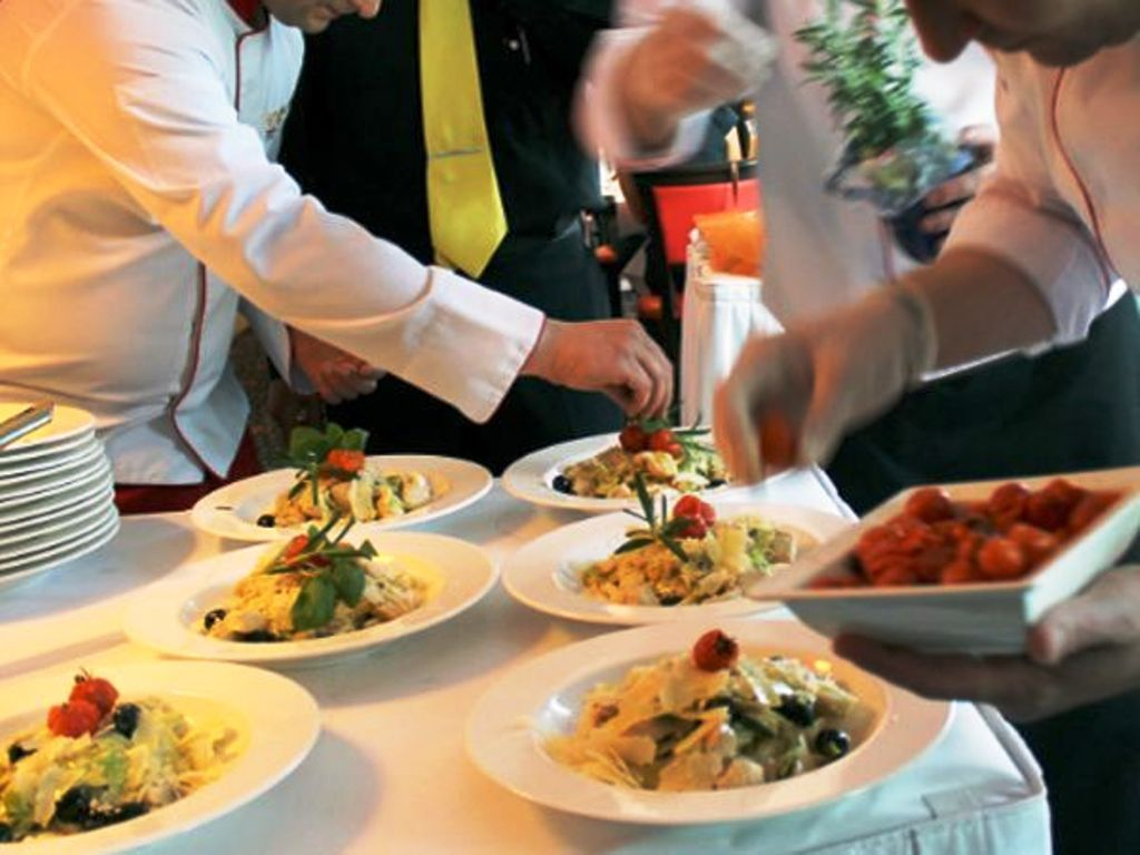Product launch catering services